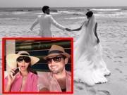 Làng sao - Siêu mẫu Hà Anh 'nhá hàng' ảnh cưới đẹp như mơ với chồng Tây
