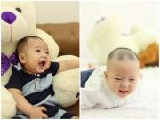 Ảnh đẹp của bé - Nguyễn Phúc Trí Dũng - AD24482 - Bé Gấu hài hước, hay cười