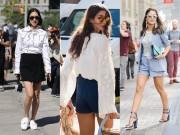 Thời trang - Có nên mặc quần short ngắn đến công sở?