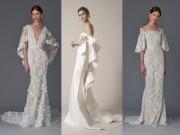 Thời trang - Những mẫu váy cưới đẹp nhất mùa xuân 2017