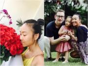 Làng sao - Đoan Trang ngất ngây vì sự lãng mạn của ông xã