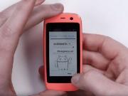 Eva Sành điệu - Ra mắt chiếc smartphone Android nhỏ nhất thế giới