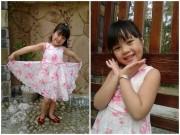 Ảnh đẹp của bé - Phạm Uyên Minh - AD44800 - Cô bé thích làm điệu