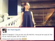 Làng sao - Thanh Vân Hugo bị mất sạch đồ ở Thái Lan