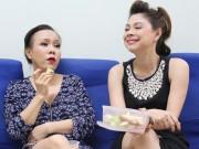 Làng sao - Thanh Thảo - Việt Hương vui vẻ ăn quà vặt, 'tám' chuyện rôm rả