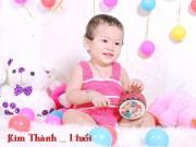 Ảnh đẹp của bé - Nguyễn Kim Thanh - AD17878 - Da trắng, mắt đen đáng yêu