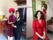 """Làng sao - """"Gái quê"""" Lê Thị Phương làm lễ ăn hỏi giản dị ở quê nhà"""