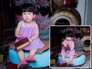 Ảnh đẹp của bé - Lê Nguyễn Ngọc Hân - AD85739 - Cô nàng nghịch ngợm