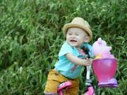 Ảnh đẹp của bé - Trần Thái Quốc Huy - AD26292 - Nụ cười tươi không cần tưới
