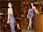 Làng sao - Hoa hậu Kỳ Duyên sành điệu, nổi bật trên thảm đỏ