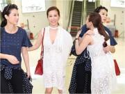 Làng sao - HH Thu Hoài ra sân bay tiễn Hồ Hạnh Nhi về Hồng Kông