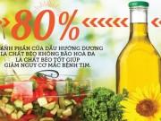 Tin tức sức khỏe - Khám phá công dụng của dầu ăn 3 thành phần