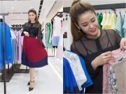 Làng sao - Vắng Tim, Trương Quỳnh Anh một mình đi mua sắm