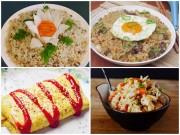 Bếp Eva - Những món cơm chiên no bụng cho ngày mới