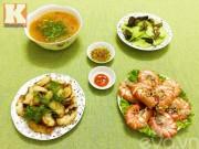 Bếp Eva - Ngon miệng với bữa ăn chiều 4 món