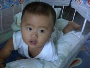 Ảnh đẹp của bé - Nguyễn Quang Minh - AD58452 - Cậu bé má phính dễ thương