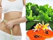 Làm đẹp - 12 loại rau quả đánh tan mỡ bụng an toàn