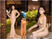 Làng sao - Hoa hậu Kỳ Duyên đẹp rạng rỡ sau ồn ào phẫu thuật cằm