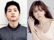 """Làng sao - Song Joong Ki """"đánh bại"""" người tình Song Hye Kyo"""