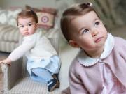 Làng sao - Ngắm Tiểu công chúa Charlotte đáng yêu khi tròn 1 tuổi
