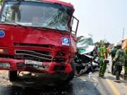 Tin tức - TNGT 4 người chết ở Quảng Ngãi: Xe khách cố vượt
