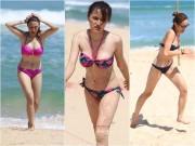 Làng sao - Hương Giang Idol và dàn sao nữ khoe ngực đầy trên bờ biển
