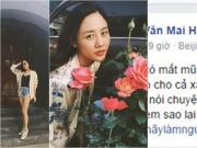 """Làng sao - Văn Mai Hương """"khẩu chiến"""" gay gắt với hot blogger trên mạng xã hội"""