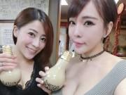 Bếp Eva - Trà sữa trân châu Đài Loan đựng trong bóng đèn gây sốt