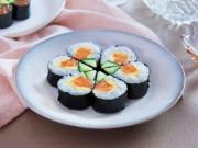 Bếp Eva - Tuyệt ngon với sushi cá hồi tự làm