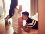 Chuẩn bị mang thai - Mẹ bầu 7 tháng vẫn xinh như hoa nhờ chồng cưng chiều