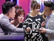 Làng sao - Trấn Thành ân cần vỗ về bạn gái Hari Won