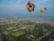 Du lịch - Chiêm ngưỡng cố đô Huế đẹp kì ảo từ khinh khí cầu
