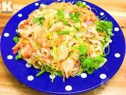 Bếp Eva - Gỏi miến hải sản ngon ngất ngây