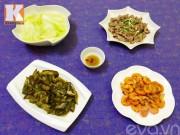 Bếp Eva - Bữa cơm chiều giản dị mà ngon