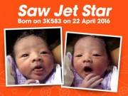 Tin tức - Bé trai nặng 3,4kg chào đời trên máy bay Jetstar