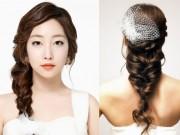 Làm đẹp - Nín thở vì những kiểu tóc tết cô dâu mùa hè tuyệt đẹp