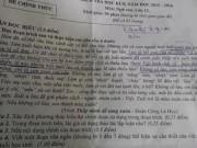 Tin tức - Phát rối với đề thi lớp 12 ở Gia Lai: 'Cô bé bán diêm là số đơn'