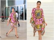 Làng sao - Hoa hậu Phạm Hương nổi bật với đầm hàng hiệu hơn 2000 đô