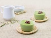 Bếp Eva - Panna cotta trà xanh giải nhiệt mùa hè