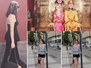 Làng sao - Văn Mai Hương vi vu nước ngoài sau lùm xùm với blogger