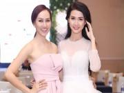 Làng sao - Phan Thị Mơ đọ vẻ gợi cảm với Á hậu Kim Duyên