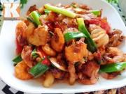 Bếp Eva - Thịt rim tôm đậm đà, ngon cơm