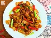 Bếp Eva - Thịt, tôm nõn rim mắm tép đậm đà ngon cơm