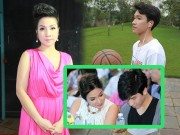 Diva Mỹ Linh khóc vì lời 'trách' của con trai