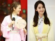 """Làng sao - Lâm Tâm Như """"thất thế"""" trước ngọc nữ Hàn Yoona (SNSD)"""