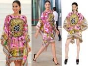 Thời trang - Phạm Hương bị chê xấu khi diện váy đi biển tham dự sự kiện
