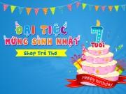 Tin tức cho mẹ - Đại tiệc sinh nhật Shop Trẻ Thơ 7 tuổi: Quay thưởng trúng lớn