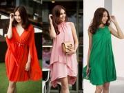 Thời trang - 8 màu váy khiến bạn đẹp không thua kém Thanh Hằng