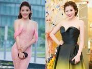 Thời trang - Chấm điểm váy áo của 2 Á hậu hot nhất Vbiz