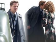 Làng sao - Lộ ảnh hôn bạn diễn, Brad dính nghi vấn phản bội Angelina